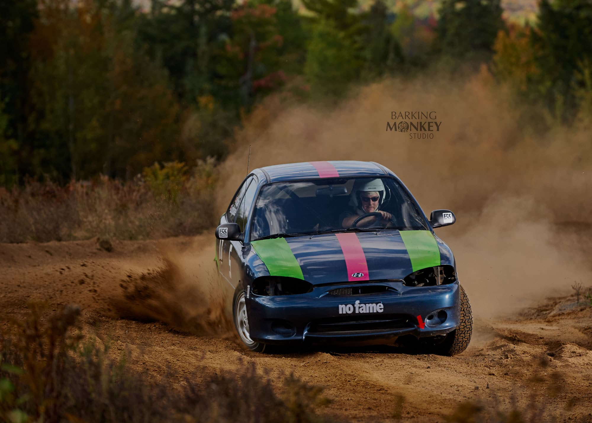 rallycross bancroft automotive photographer no fear hyundai