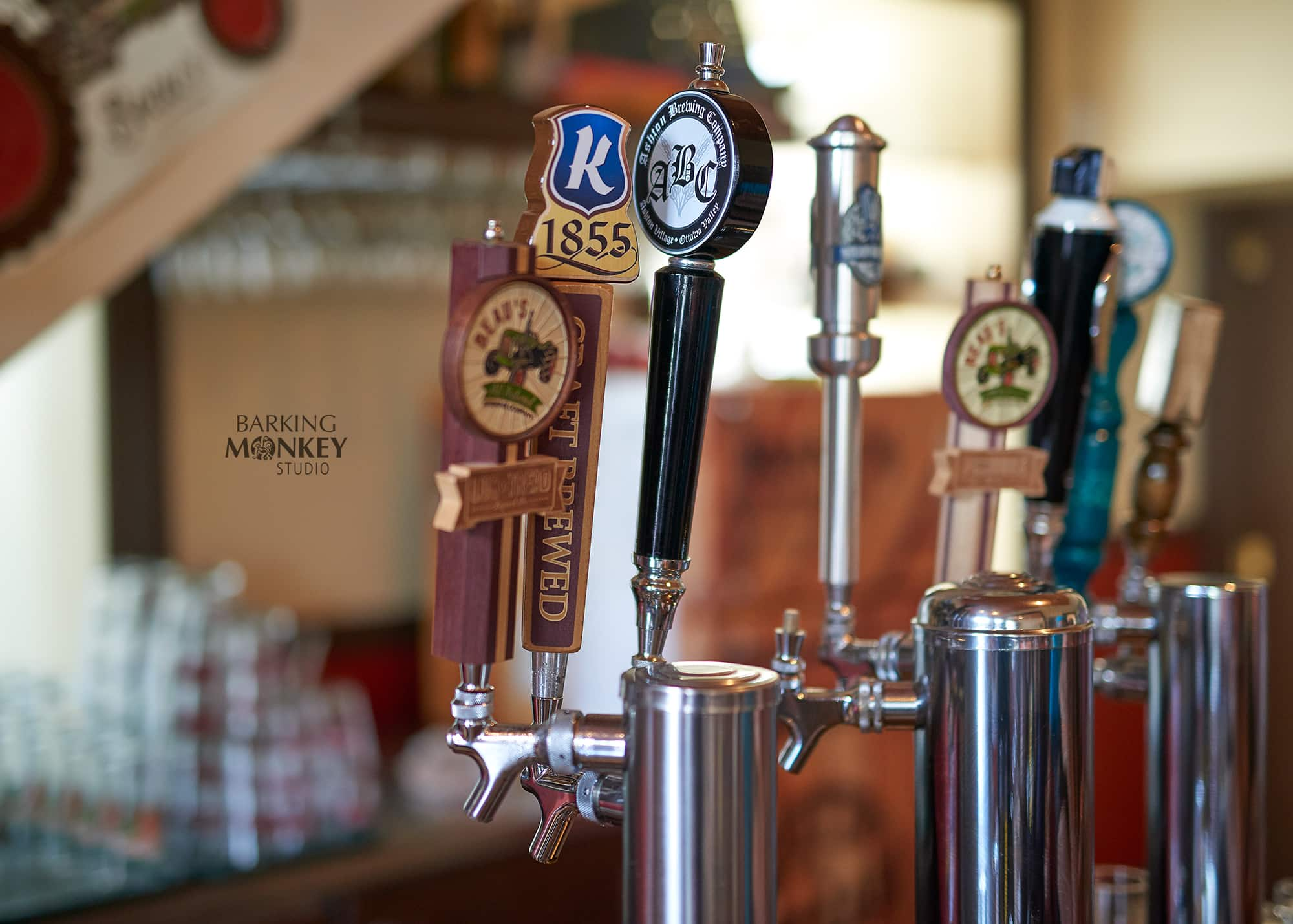 ottawa commercial photographer beer bar taps