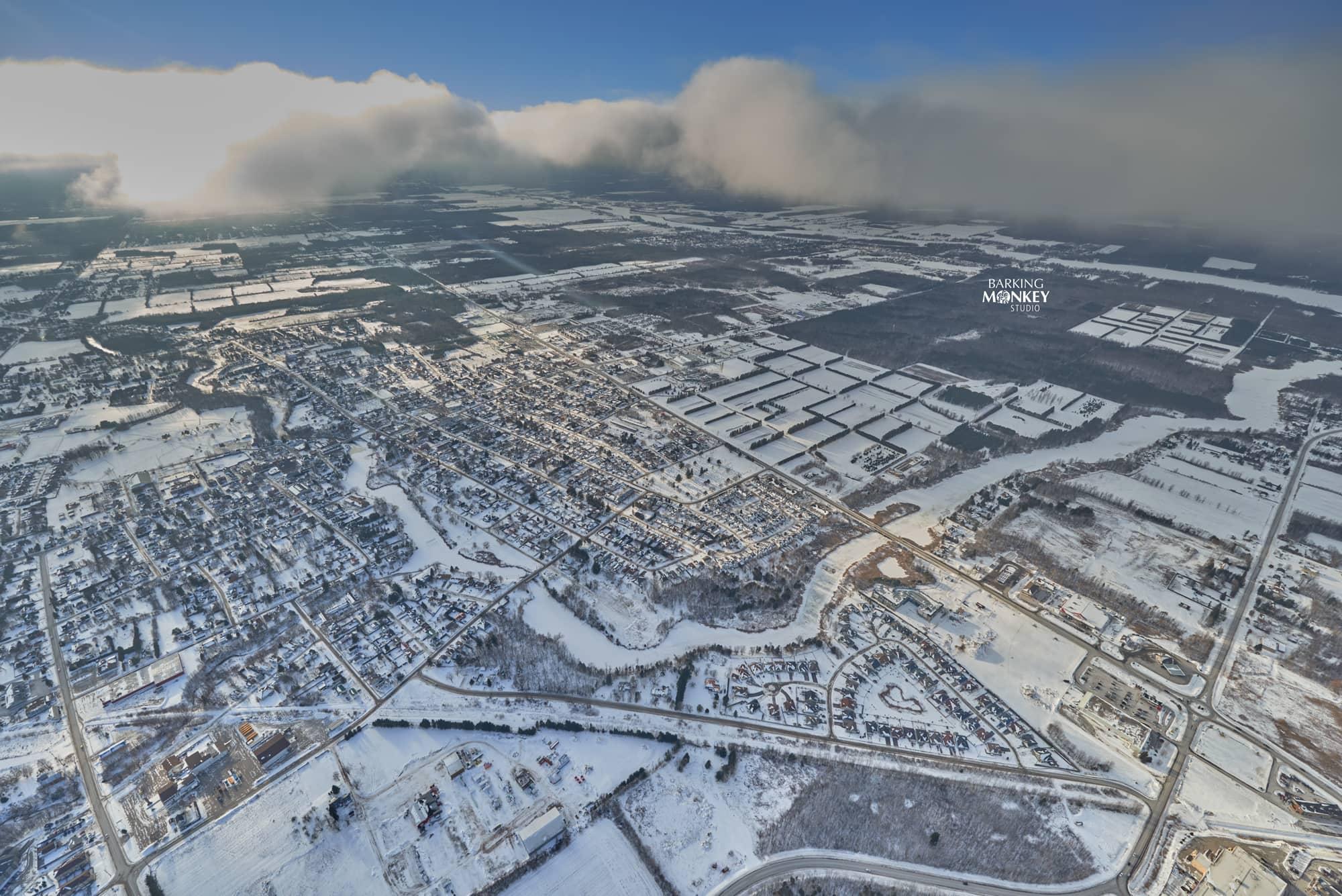 kemptville aerial photo