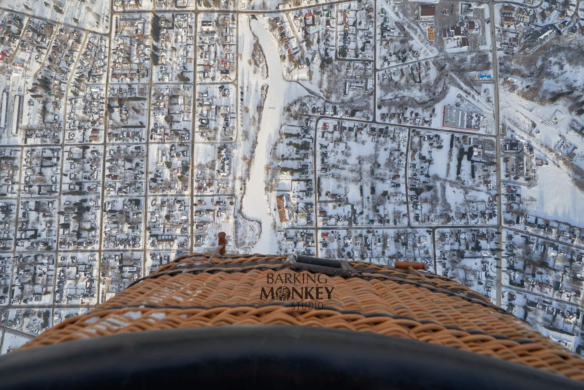 aerial photo kemptville